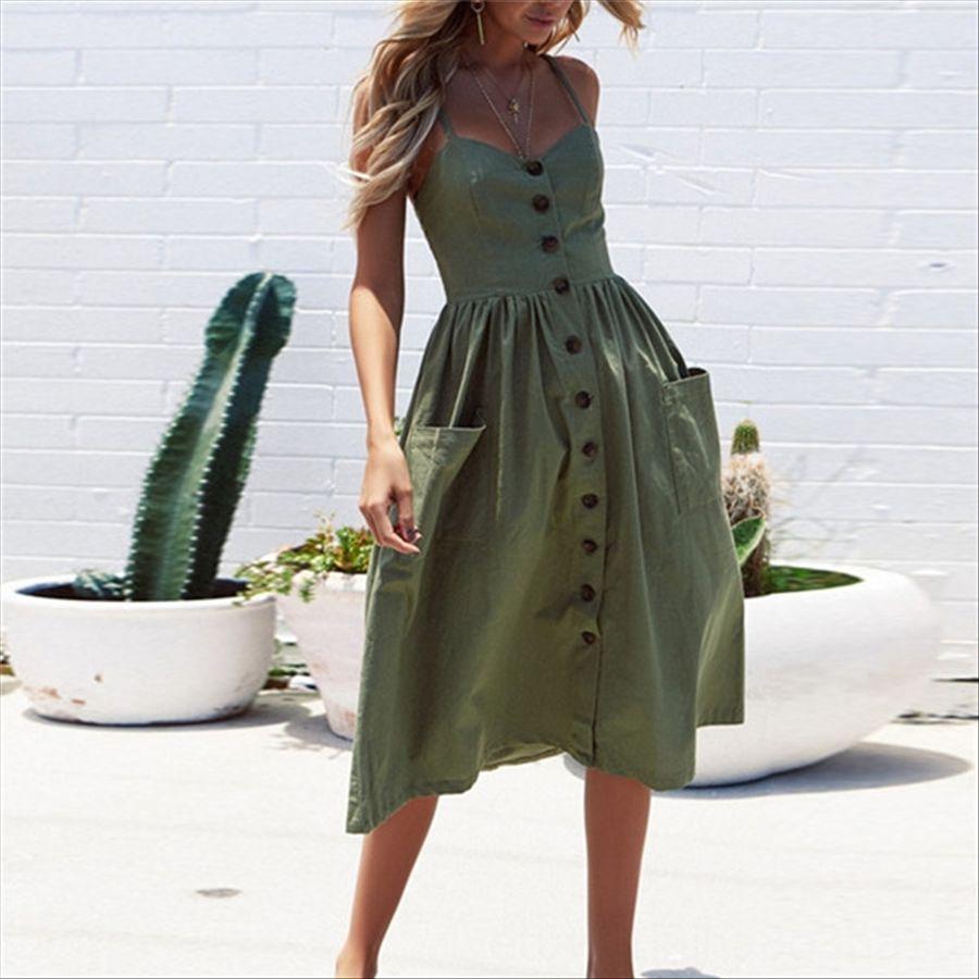 D8ok1 Kadınlar Pamuk Elbise kadın Günlük Elbiseler uzun Kadınlar yaz Seksi elbise kız sokak stili elbiseler ucuz uzun tişörtler