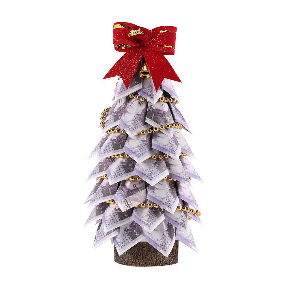 الدولار المال شجرة توبياري الأخضر هدية المال الديكور المنزلي شجرة دولار ورقة شجرة الأعمال هدية للرجال والنساء