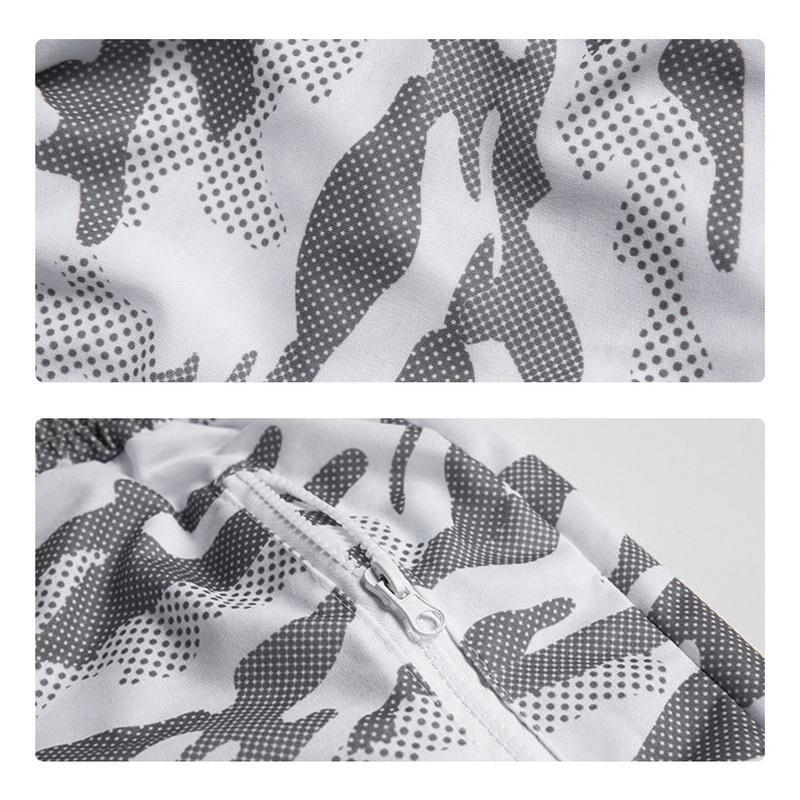 Mens Camouflage Stampato Shorts cordoncino elastico in vita Fitness Slim Gym Sport Breve Mutanda degli uomini Camo Estate Shorts 2020