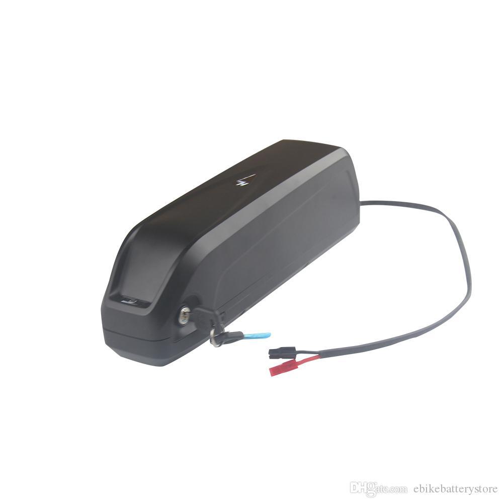 Große Qualität bafang bbs02 750w Batterie 48V 17AH Hailong Batterie 650W zu elektrischer Fahrrad Batterie 1000W mit Schalter + 5V USB-Hafen