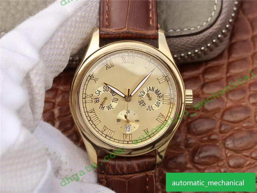 Fashion luxe cal.324 automatic mechanical movement watches precision steel case with sapphire glass designer watches