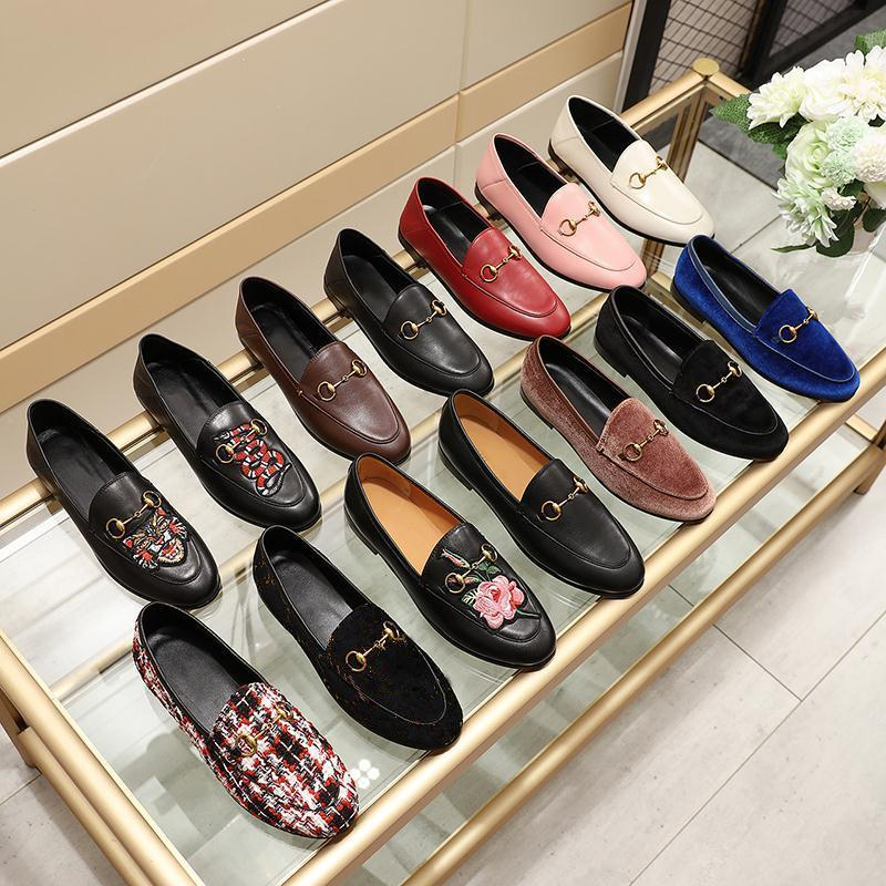 Mens Loafers Shoes Real Leather Slip On Mules Casual Formal Horsebit Embroidery