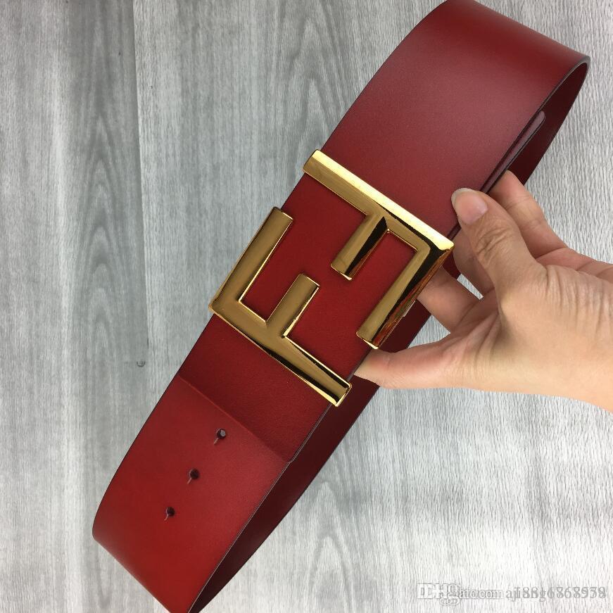 7 cm de ancho cinturones de diseño de alta calidad pantalones vaqueros de los hombres cinturones Cummerbund correas para los hombres de las mujeres hebilla de metal A7