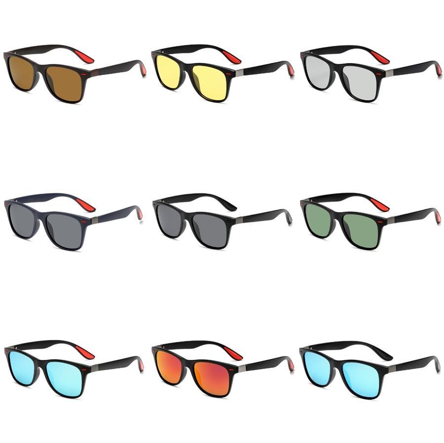 Mosaico de los nuevos vidrios, gafas de sol piso, segundo Yuan Hip-Hop, gafas de sol de moda para hombres y mujeres # 310