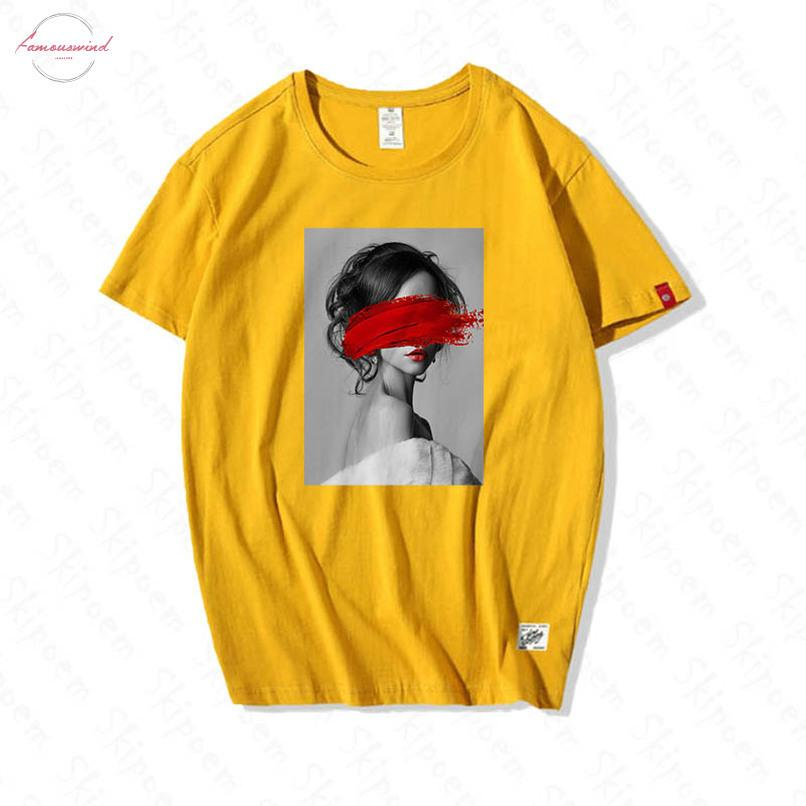 Moda Nordic Arte Vintage T-shirt Donne Harajuku Kawaii Vintage estetica 100% cotone manica corta Plus Size Abbigliamento Streetwear