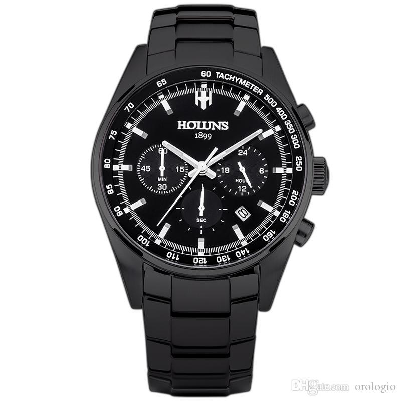 erkek mavi kadran gümüş çelik saatçi için araçlar saatler izlemek kuvars üst marka lüks erkek moda saatler relógio masculino / ss BRW