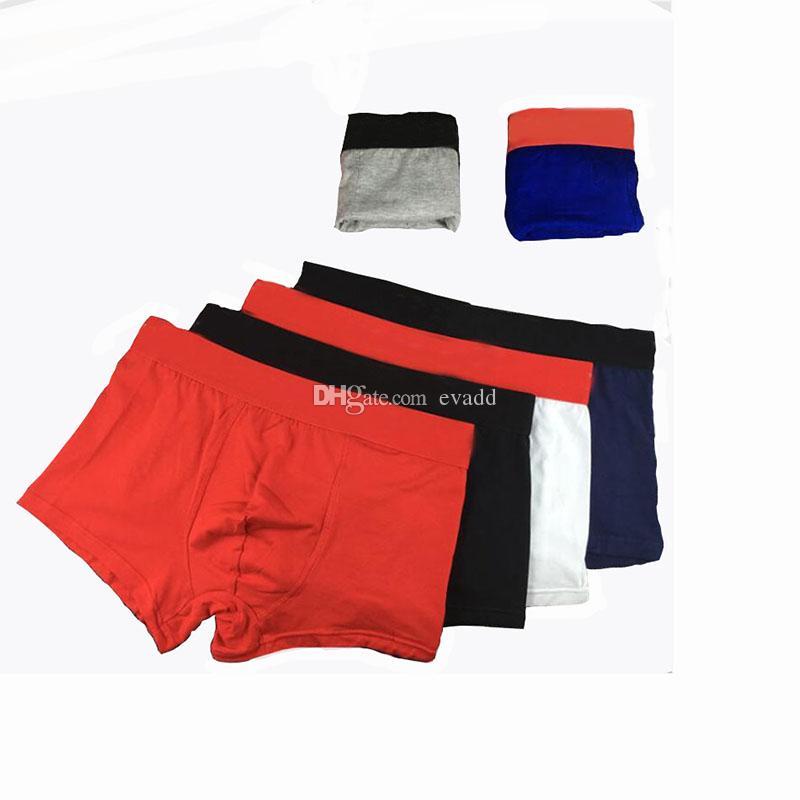 2020 Homem cueca boxer curto Sexy Underwear Mens Hot Boxers roupa interior de algodão confortáveis calças dos homens cuecas masculina Calcinhas