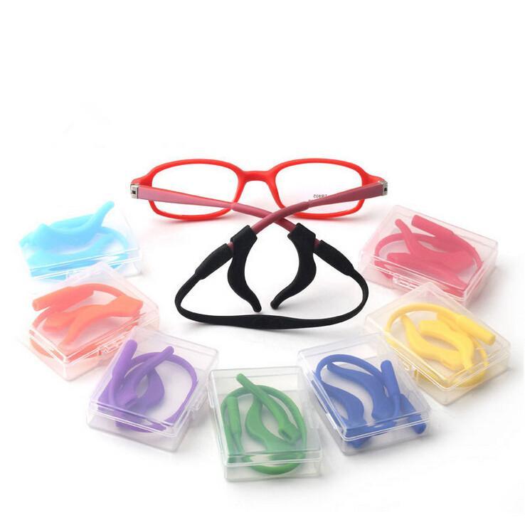 Crianças Óculos Cord, Silicone Strap Cabeça Banda Cord, Crianças Vidros de segurança Banda Strap Retentor, Óculos Cord Cadeia