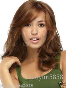 Mode Chaude! perruque New Charm femmes longues perruques de cheveux bouclés pour les femmes perruque Livraison gratuite