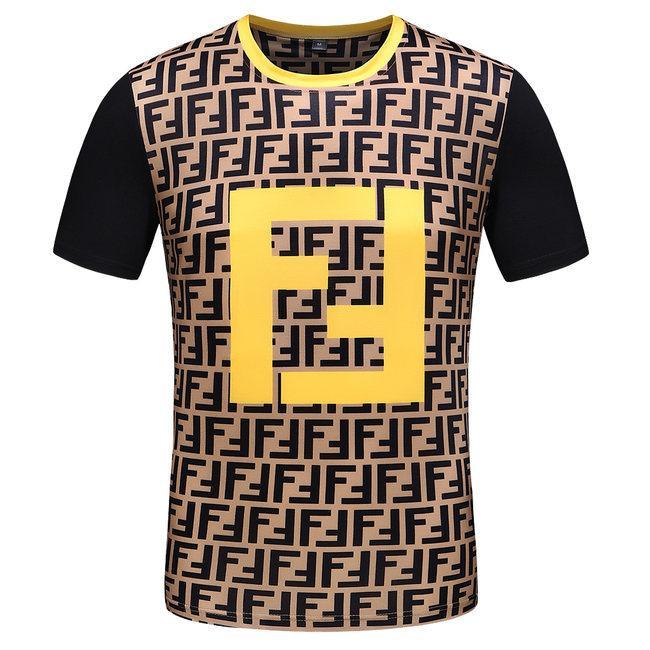 T-shirt pour hommes de la mode italienne à manches courtes T-shirt en coton avec applications de broderie Medusa Harajuku T-shirt pour hommes occasionnels M-3XL