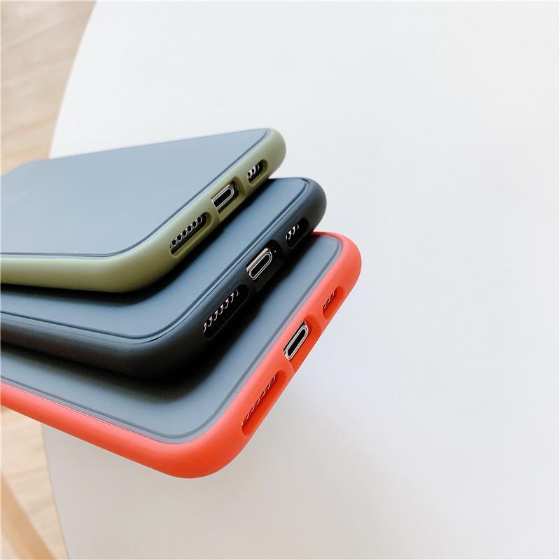 Étui en Silicone sur Pour Samsung A10 A60 A40 A10E A70 A50 cas TPU Couleur Mat Couverture Arrière Pour ViVO IQOO Pro 5g Cas Peau De Téléphone Portable Cas