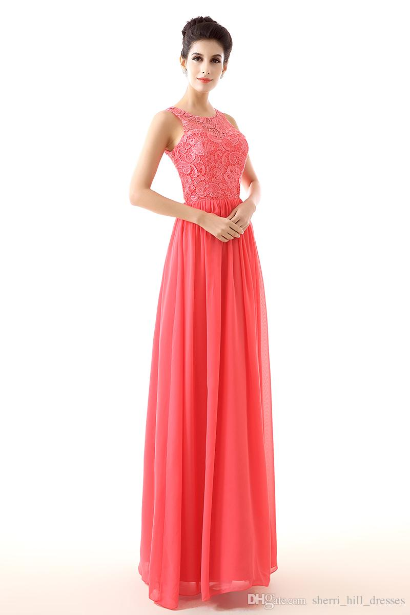 Formal A-Line Evening Dresses The European And American Fashion Lace Long Prom Dresses Of Bridesmaid Dresses