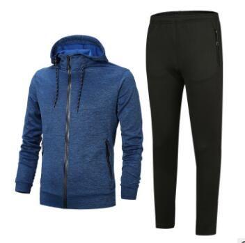 Luxus Anzug 2019 Frühlings-Herbst-Männer Designer Tracksuits Zipper Anzug Tops + Pants drucken Mens-beiläufige Sweatshirt-Sport-Anzüge