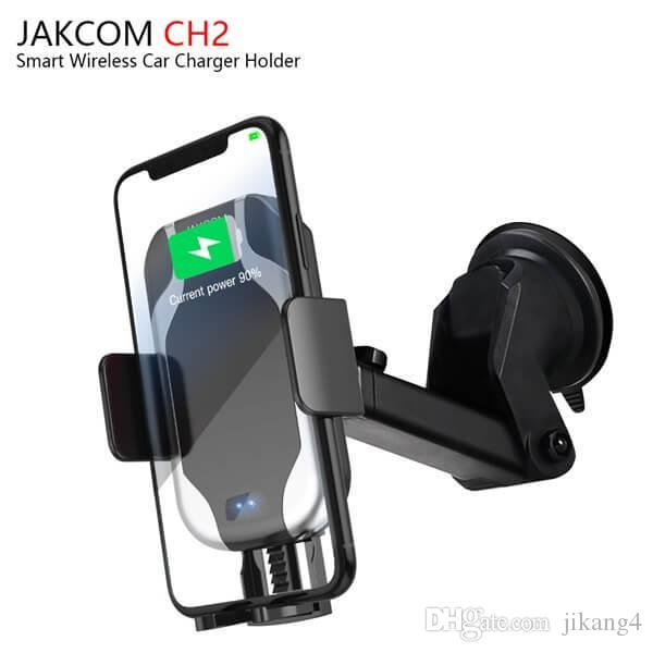 JAKCOM CH2 Smart Wireless Car Charger Mount Holder Vendita calda in caricabatterie per cellulari come accessori per cellulari y5 heartrate tevise watch