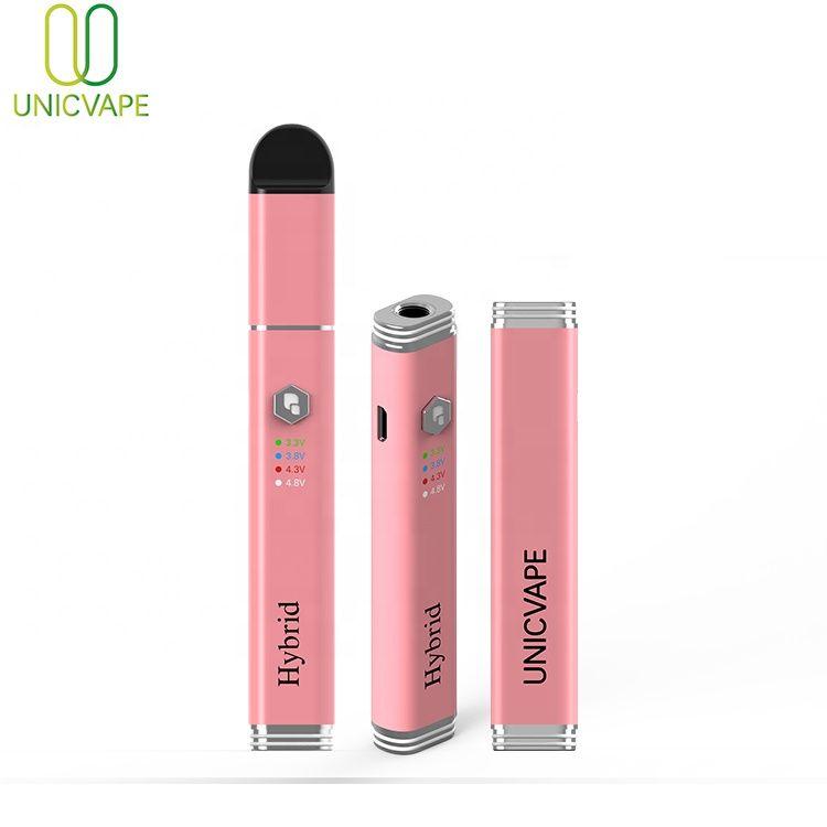 Alta tensão 3.3v-4.8v vv bateria cigarro e cera quebrar óleo DAB vape caneta 510 fio cera 400mAh vaporizador stig
