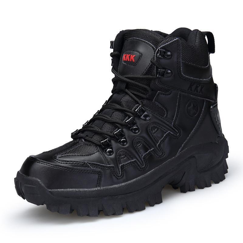 Stivali da uomo Tattico militare Tattico di grandi dimensioni Esercito Bot Scarpe maschili Sicurezza Combattimento Stivali da moto Bot per caviglia Stivali HH-152
