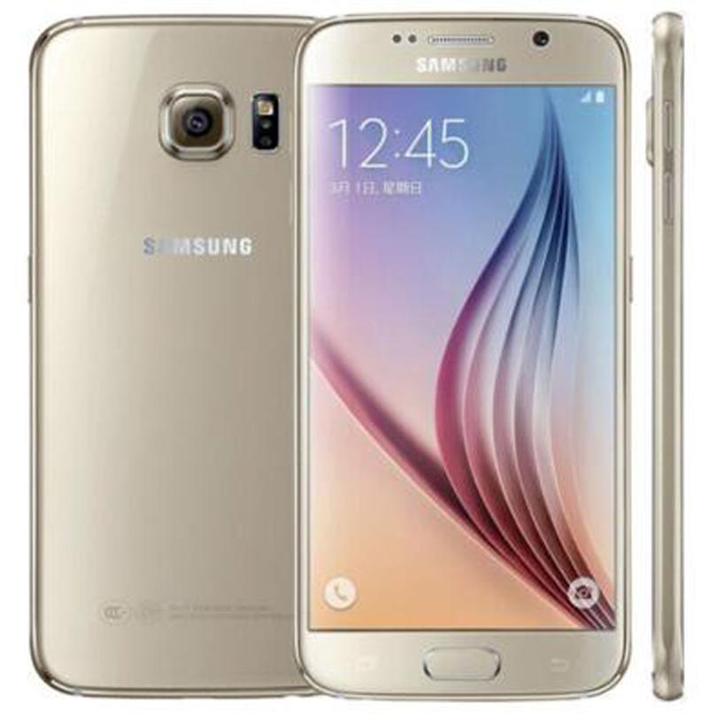 Original Refurbished Samsung Galaxy S6 G920F G920A G920T G920V G920P 5.1 inch Octa Core 3GB RAM 32GB ROM 16.0MP 4G LTE Phone DHL 1pcs