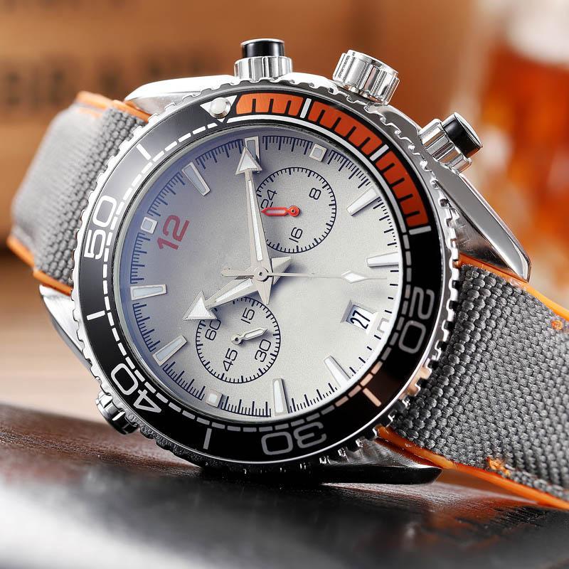 2020 새로운 실행 스톱워치 남성 시계 방수 패션 손목 시계 석영 달력 비즈니스 저렴한 남성 시계 도매