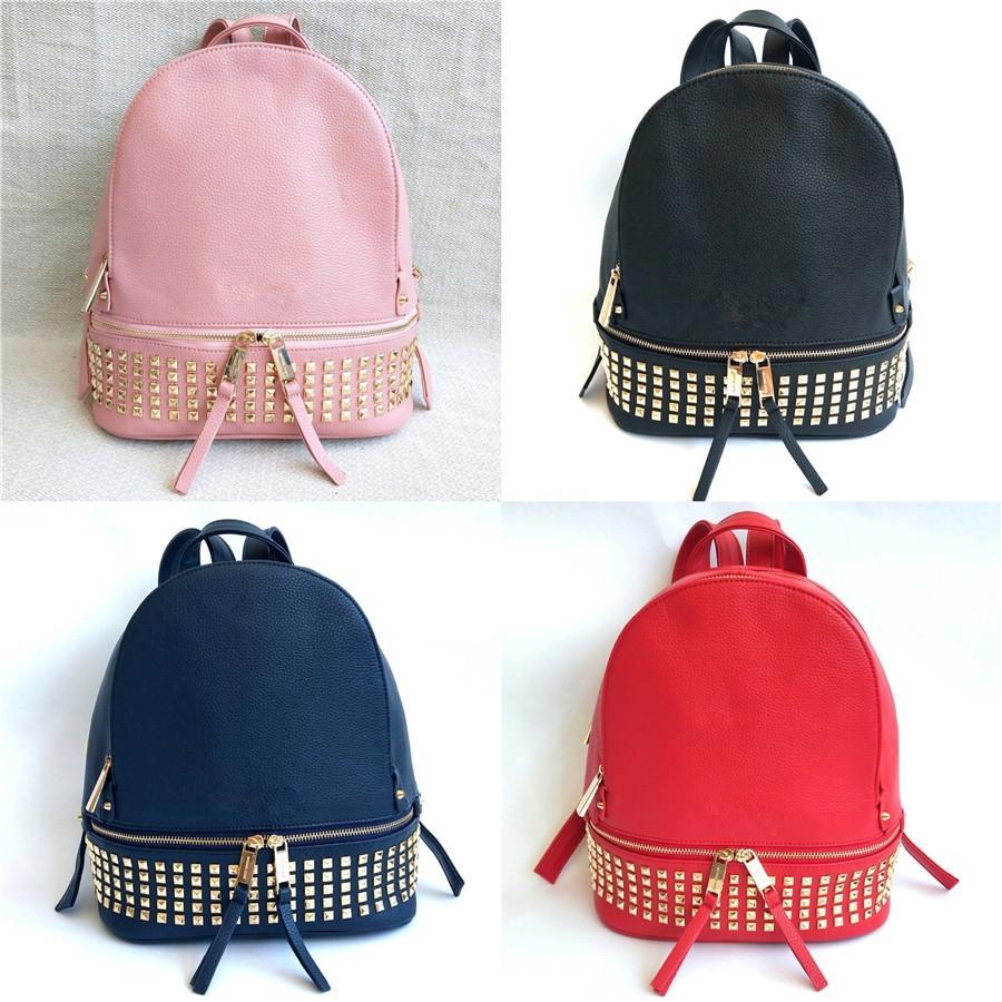 Moda feminina pequena Selma Bolsas Marca Backpack Pu Couro famoso designer Bolsas Mensageiro Shoulder Tote Bag Crossbody A0013 # 863