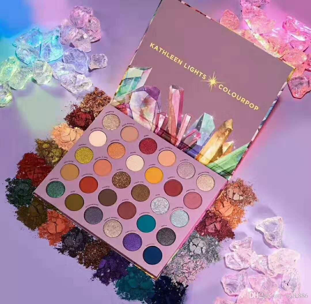 SO JADED KATHLEEN LIGHTS X COLOURPOP PRESSED POWDER PALETTE 30 Colors Shimmer and Matte Eyeshadow Palettes
