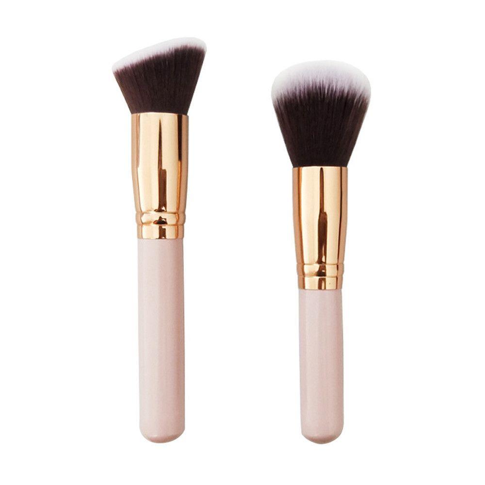 Cepillo cosmético Maquillaje en la cara Pincel en polvo Brocha para el pincel Fundación Pinceaux Maquillage Pinsel 2019 Moda # 8
