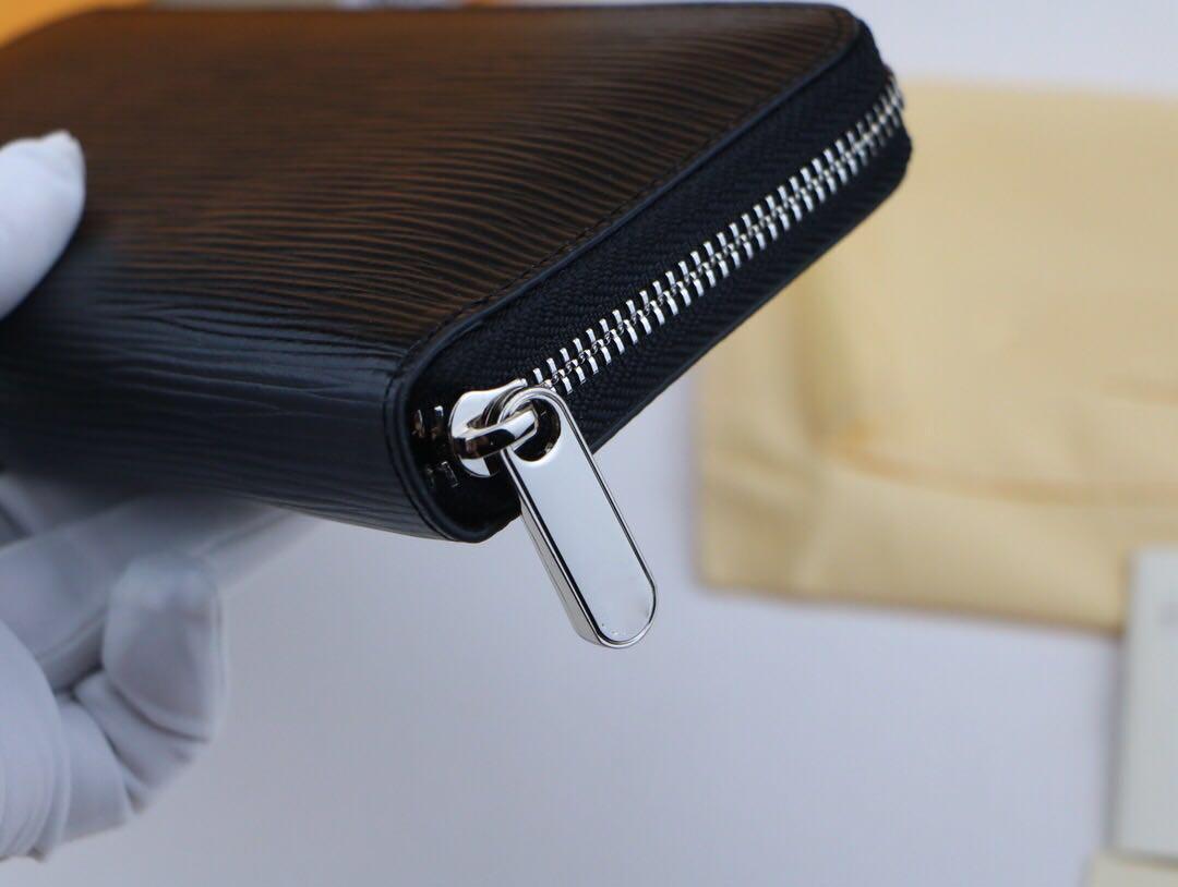 2019 novo homem designer bolsas designer de carteira de moda embreagem carteiras designer de carteira titular do cartão bolsa mens couro genuíno com a caixa 60017