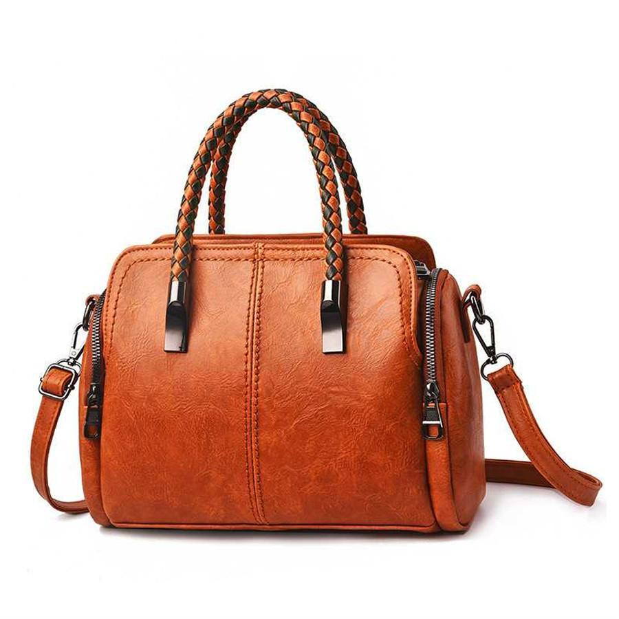 handbag leisure handbag messenger bag Womens leather bag shoulder bag