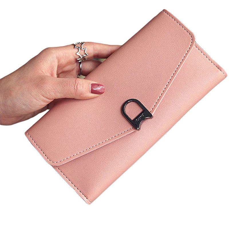 QA/_ Stylish Men Bifold Wallet Credit ID Card Coin Holder Cash Purse Business G