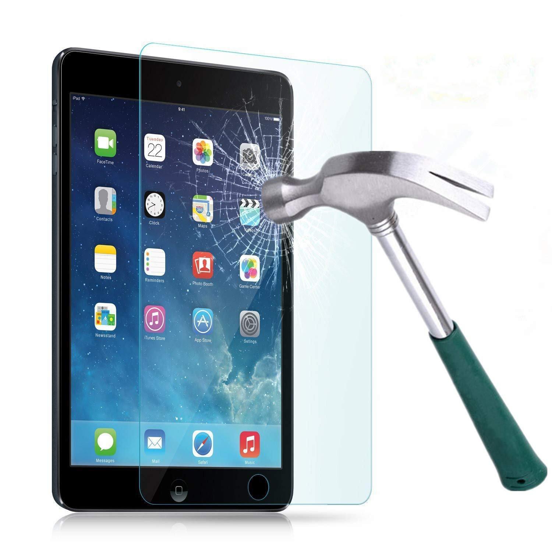 iPad mini 4 용 7.9 인치 강화 유리 필름 새로운 iPad Mini와 호환되는 5 인치 화면 보호대 1 2 3 먼지 흡수기 건조 / 젖은 손수건 사용