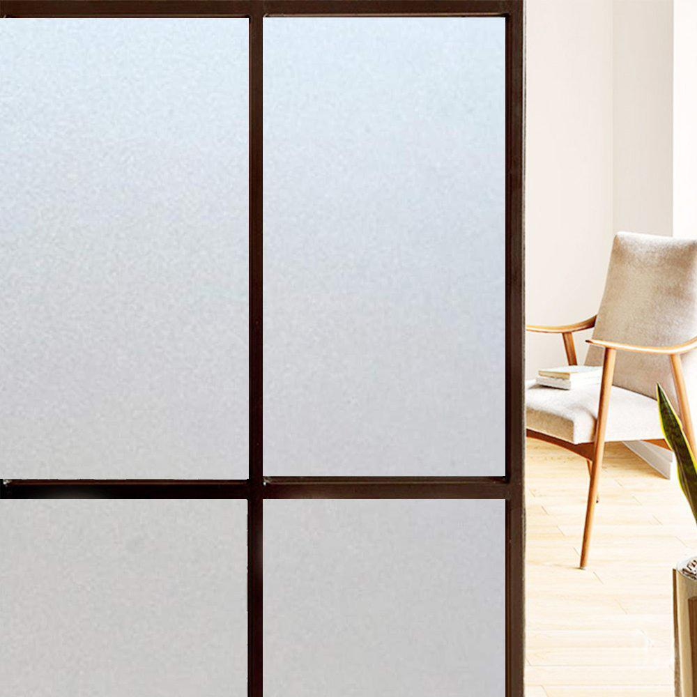 PVC Matte Frosted Window Film Privacy Opaque Glass Vinyl Self Adhesive HOT SALE