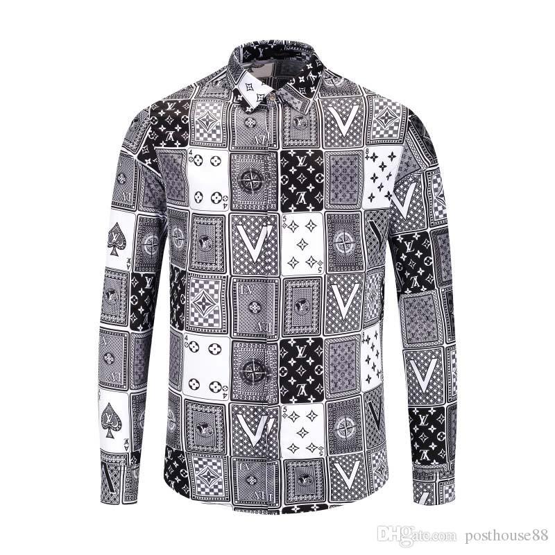 Мужская модная одежда новый дизайнер рубашка мужская повседневная 3D печать шаблон Harajuku рубашка дамы Медуза рубашка