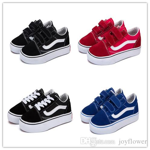 Children Sneaker 2019 New Spring Children's shoes Boys Girls Sports shoes Fashion Kids Jean Canvas Casual