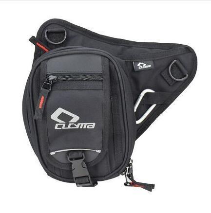 Cucyma motocycliste Sac de taille Mototourisme Diagonal Loisirs Lumière Leg Bag Off -Road Riding Pouch