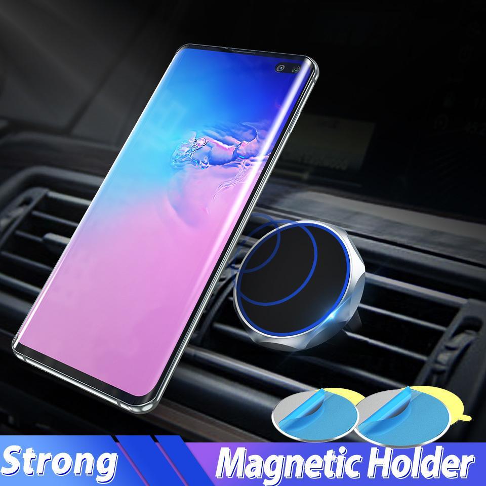 차 전화 홀더 아이폰 삼성 S10S9 를 위한 자석 배기구 출구 산 자석 차 G ps 이동할 수 있는 정제 홀더 지원