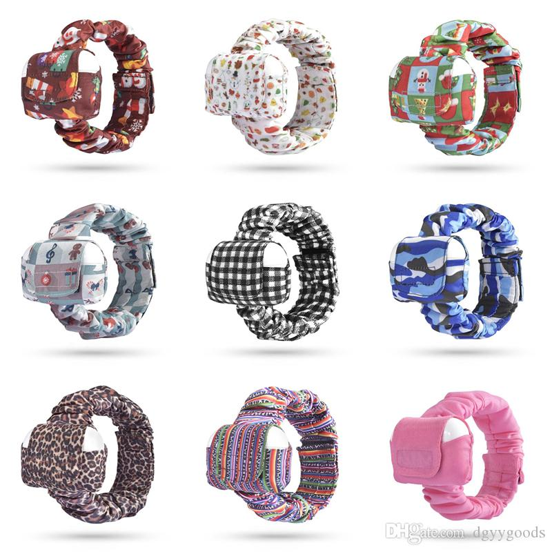 Чехол спортивный браслет для наушников Airpods про 3 печати защитный чехол для Airpods про 3 Портативный чехол Airpods с браслет