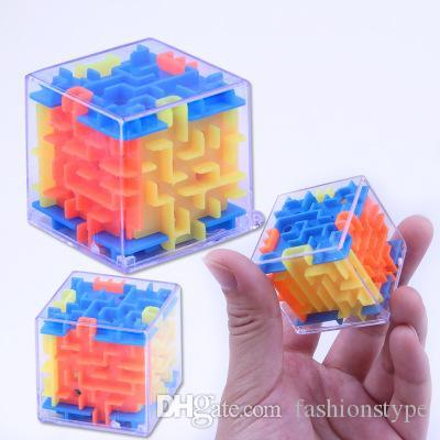 3D مكعب لغز لعبة المتاهة الدماغ لغز متاهة مربع اليد لعبة حالة لعبة التحدي تململ لعب الرصيد ألعاب تعليمية للأطفال
