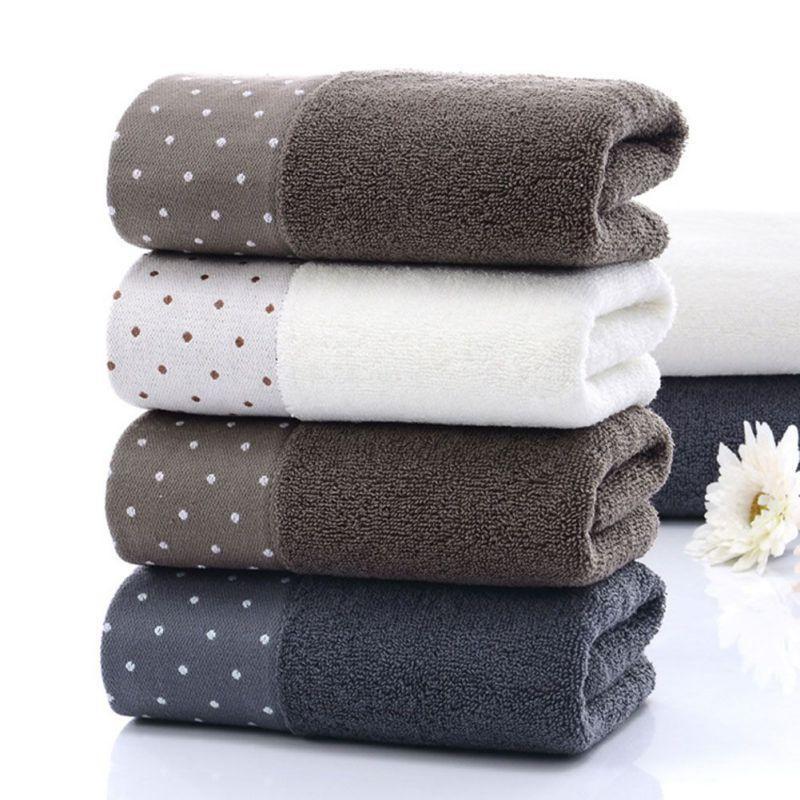 P2 PC SOFT patrón de punto de toalla de baño muy absorbente para toallas de baño y gimnasio Hombres Mujeres cómodo cara Toallas CM