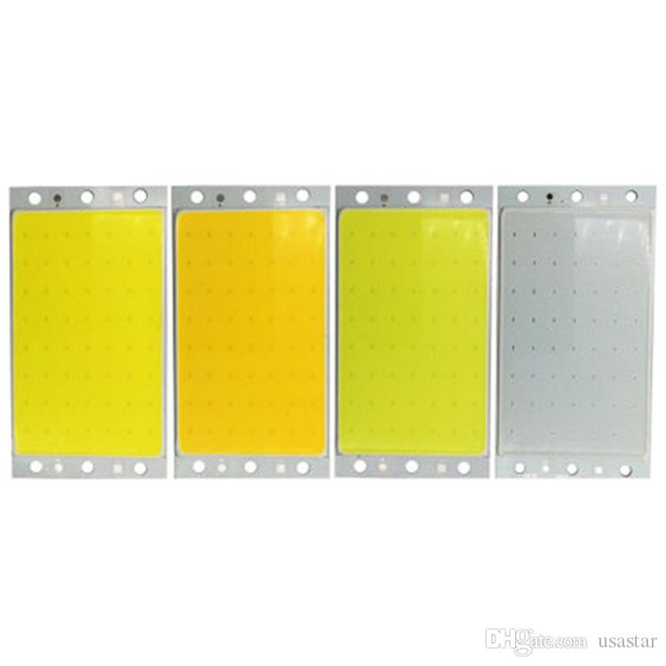 Rectangular COB Led surface light source 94x50mm 15W LED COB chip, white light, warm white, natural white, blue, red, green light source