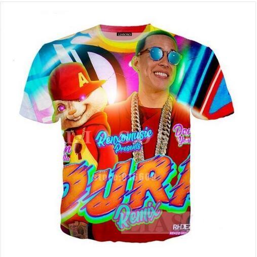 Multicolor Short Sleeve Dad Shirt  Large