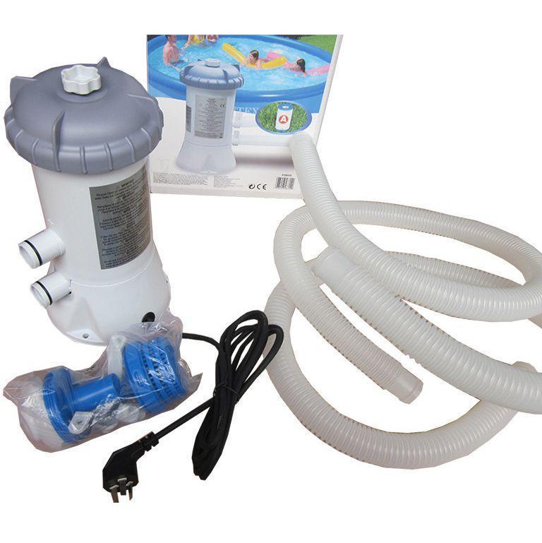 Eléctrica piscina Bomba Filtro Por encima de las piscinas de tierra herramienta de limpieza de la piscina purificador de agua filtro de KKA7948