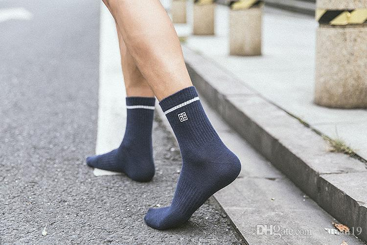 well known coupon code ever popular 2018 Originally Created Autumn And Winter New Style Men'S Socks Under  Huatian Boots In 2018 Sports Pcolor Embroidered Cotton Men'S Socks From ...