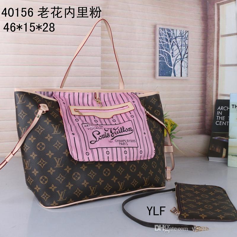 Bolsas Mulheres Europa e da América novo Moda Vintage sacos Designers Bolsas Carteiras por Mulheres Couro Cadeia Bag 41627