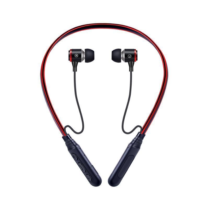 마이크 MP3 이어폰 아이폰과 스포츠 이어폰 헤드셋 BT 5.0을 실행 E3N 스포츠 금속 유선 이어폰 블루투스 헤드폰 자기 무선