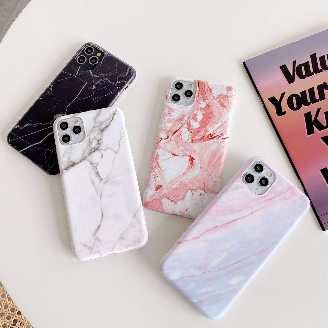 Fashion Marble Stone Phone Case For iPhone 11 Pro XS MAX XR X 8 7 6S Plus Hot Selling Marble Design Phone Case