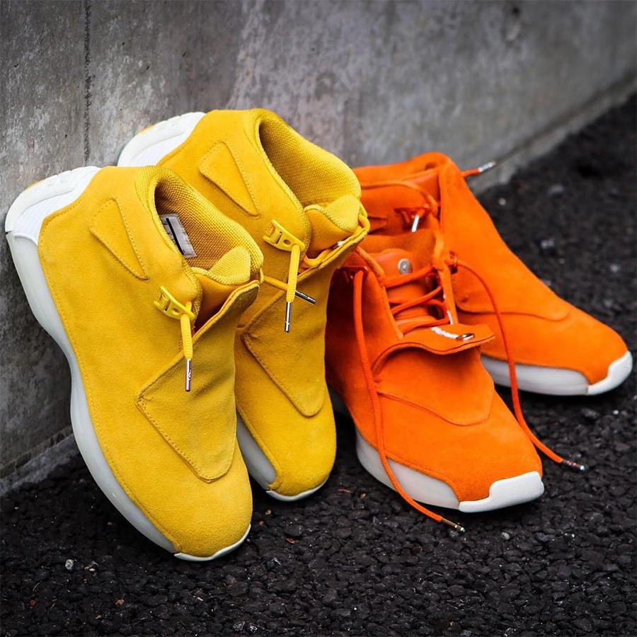 4 Farben Blau Gelb Orange Suede 18s Basketball-Schuh-Definition Moments Herren Toro Rot Schwarz König 18 XVIII Cool Gray Sport Sneaker 41-47