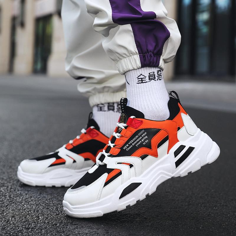Men High Platform Sneakers Spring