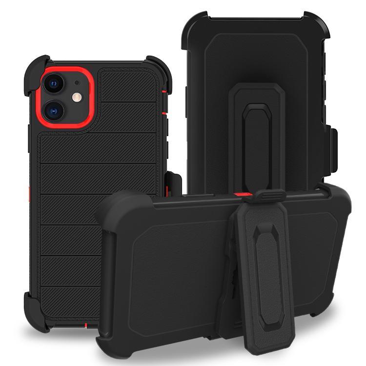 لLG K51 K31 K40 Stylo6 الدفاع الثلاثي كومبو الحافظة كليب حزام الكاميرا حماية ضد الصدمات Polycarbonta 3 في 1 الهاتف حالة تغطية