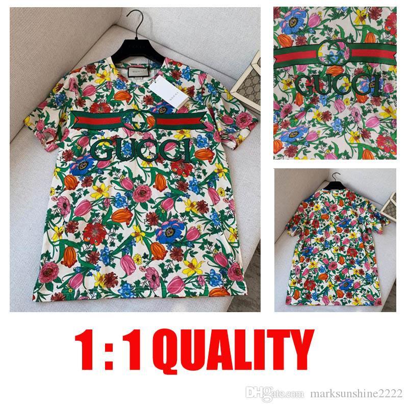 2020 hommes design de luxe marque t shirts Hommes Femmes concepteur Coton Shirt Lettre Casual Imprimer manches courtes T-shirt XS - L