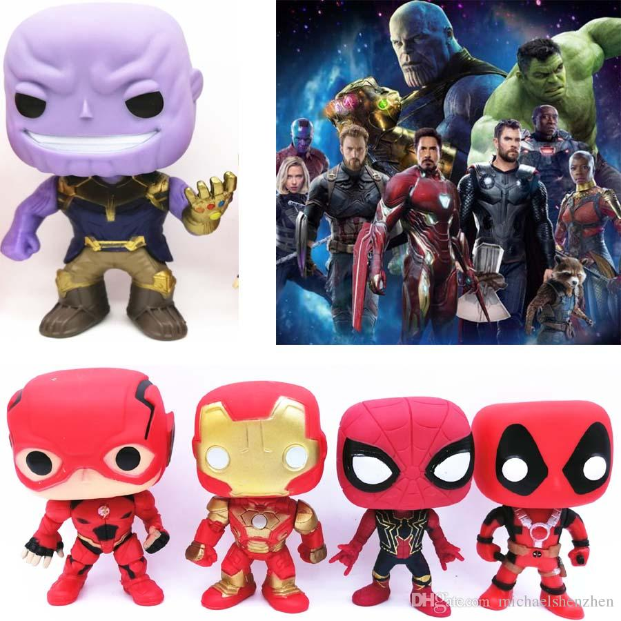 Toys Gifts Marvel Avengers Superhero Spiderman Venom Thor Deadpool Action Figure