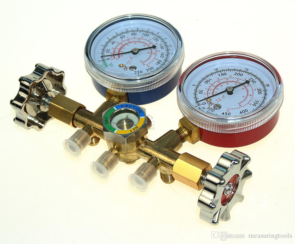 2019 Refrigeration Air Conditioning R22 R12 R502 A/C AC Diagnostic Manifold  Gauge Set From Measuringtools, $49 9 | DHgate Com